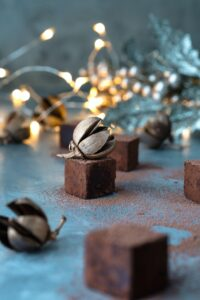 square chocolate candy